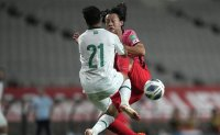 Korean offense silenced by gritty Iraq in World Cup qualifier