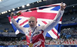 'Immortal' Peaty makes British history by defending Olympic swimming crown