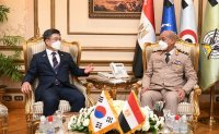 Korean, Egyptian defense chiefs agree to boost cooperation
