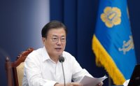 August comes as tough month for Moon's presidency