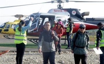 Heavy snowfall hinders search efforts for 4 missing Korean trekkers in Himalayas