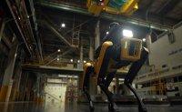 Boston Dynamics' robot dog on safety patrol duty at Kia factory