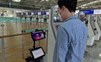 Robots deployed at Incheon airport for temperature checks