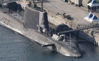 British submarine arrives in Busan ahead of aircraft carrier's port call
