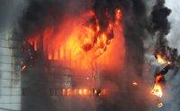Fire engulfs Coupang warehouse [PHOTOS]