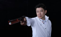 Korea's shooting legend takes aim at record-breaking medal in Tokyo