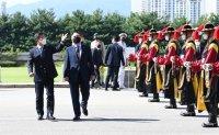 Korean, UK defense ministers' meeting