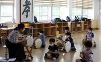 Students back in school in South Jeolla Province [PHOTOS]