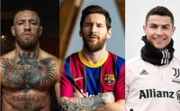 From Conor McGregor to Cristiano Ronaldo, these are 2021's top paid athletes in the world