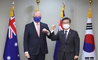 Korea, Australia vow to boost defense cooperation during ministerial talks