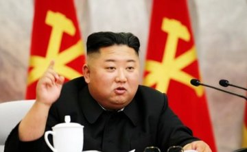 N. Korean leader discusses nuclear war deterrence