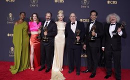 Netflix dominates Emmys with 'Crown' sweep and 'Queen's Gambit' win