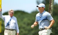 McIlroy delivers the winner as live golf returns to TV