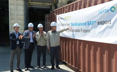 LG Chem conducts first export of Bio-balanced SAP