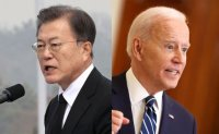 Moon out of step with Biden ahead of Korea-US summit