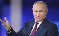 Putin says UK warship near Crimea wanted to test Russia's military response