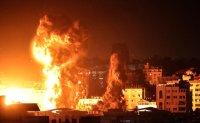 Gaza City under attack [PHOTOS]