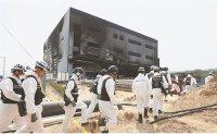 Warehouse fire shatters Korean dream