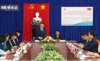 Korean city of Chuncheon forges sisterhood with Vietnam's Da Lat