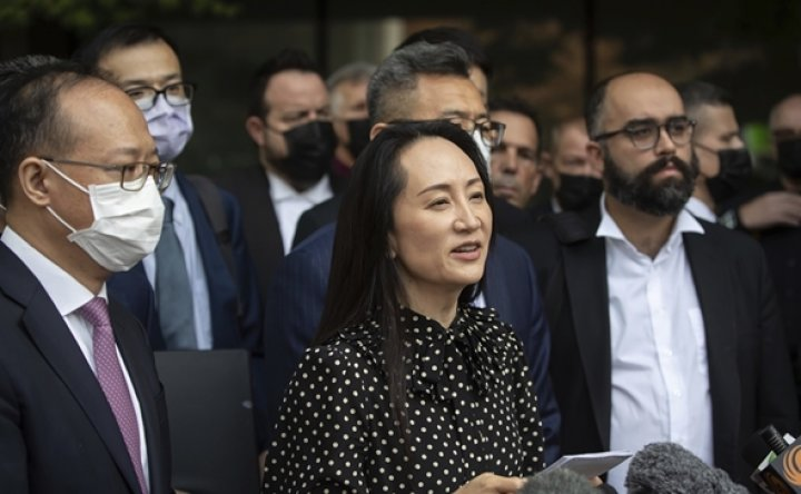 Huawei executive freed in Canada after deal with US prosecutors