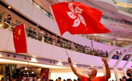 Hong Kong police investigate Olympic chants, China anthem booing
