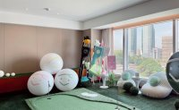 'Enjoy a private golf course in the comfort of your hotel room'