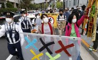 Poll shows 60% of Japanese want Olympics canceled