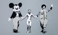 Banksy's works arrive in Seoul