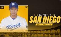 It's official: Korean baseball star Kim Ha-seong signs with San Diego Padres