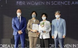 L'Oreal Korea, UNESCO honor Prof. Lee You-mie with Academic Promotion Award