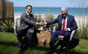 US-French spat seems to simmer down after Biden-Macron call