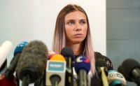 IOC removes two Belarus coaches; sprinter says order came from 'high up'