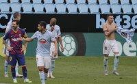 Barcelona concedes late to draw at Celta Vigo 2-2