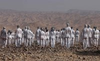 Hundreds pose nude for Tunick shoot in Israel near Dead Sea