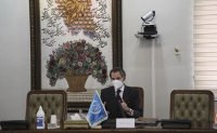 UN nuclear chief in Iran as it threatens watchdog's cameras