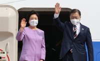 President Moon heads to New York for UN speech during Chuseok holiday in Korea