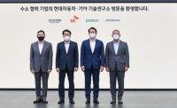 Hyundai, SK, POSCO, Hyosung to set up hydrogen council