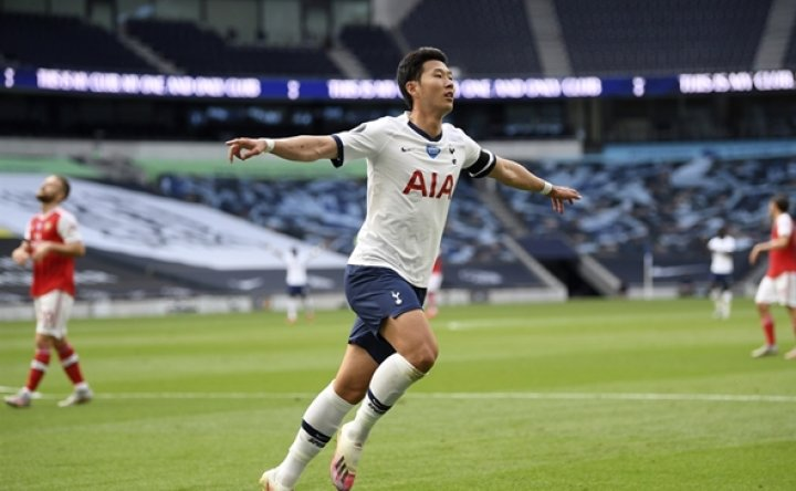 Tottenham's Son Heung-min scores, sets up winner to join exclusive club