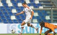 Ibrahimovic scores twice as Milan beats Sassuolo 2-1