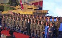 North Korean soldier in blue generate buzz on social media