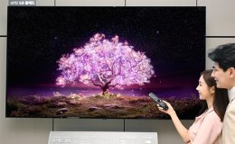 LG Electronics launches 83-inch OLED TV