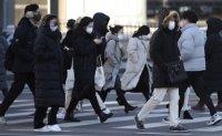 Freezing temperatures sweep Korea