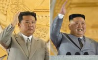 Thinner, energetic Kim stands out at North Korean parade