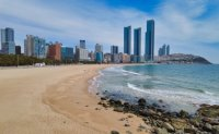 Busan's Haeundae Beach loses over 20% of white sand from erosion: data