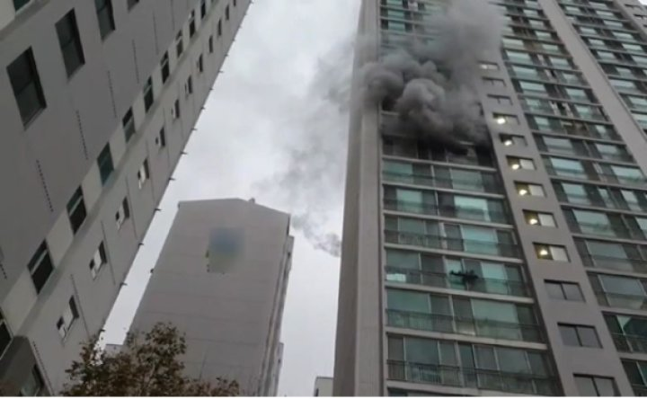 1 killed, 3 injured in Busan apartment fire