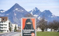 Swiss citizens back proposal to ban face coverings in public