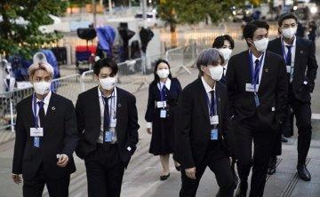 BTS returns home after visit to UN, New York