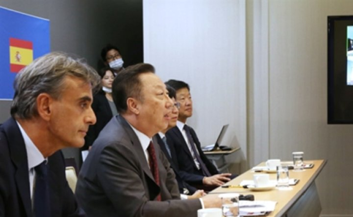 KCCI chief vows to enhance Korea-Spain business ties