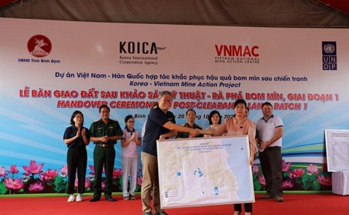 KOICA completes land mine survey in war-affected Vietnamese region
