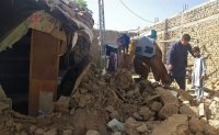 Strong earthquake in southwest Pakistan kills at least 20